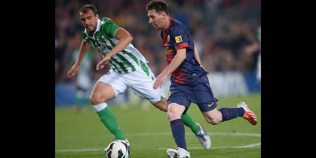 Le Barça, sauvé par Messi face au Betis, touche au but - La DH