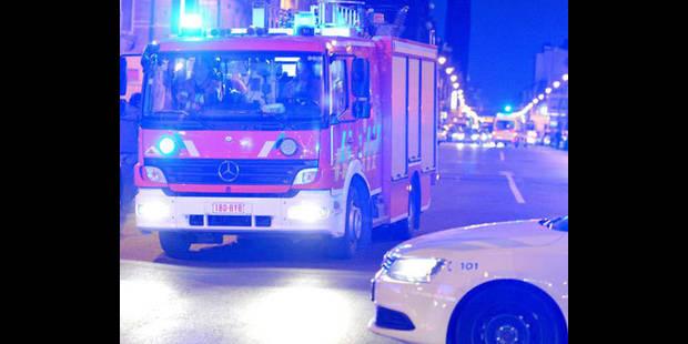 Incendie à Verviers: Un homme pendu dans le vide avec son bébé - La DH