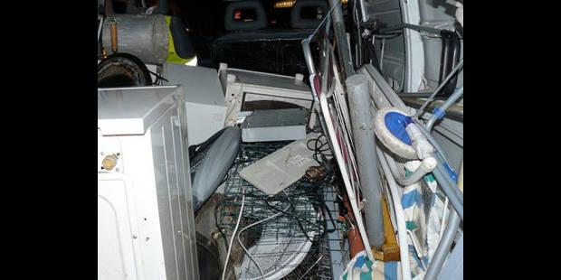 40 m3 de déchets illégaux interceptés - La DH