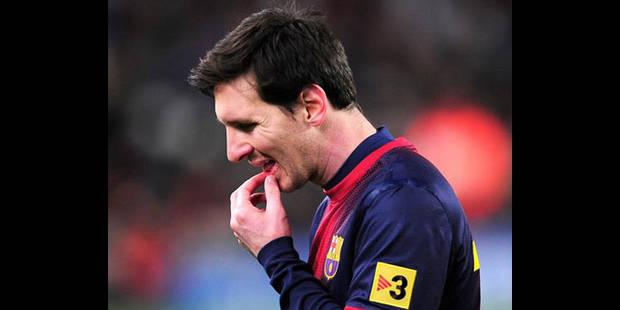 FC Barcelone: Roura défend son Messi - La DH