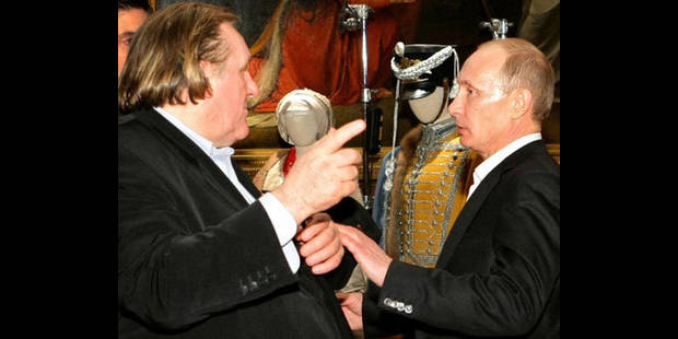 Nouveau passeport pour Depardieu ? - La DH