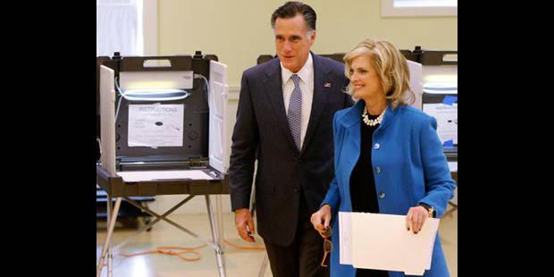 Romney a voté et croit en ses chances - La DH
