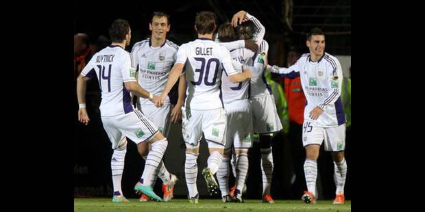 Les Anderlechtois en pleine bourre avant le Zenit - La DH