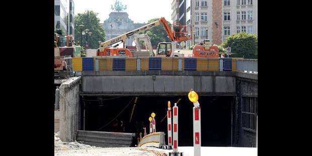 Les tunnels Cinquantenaire et Loi rouverts à la circulation le 6 septembre - La DH