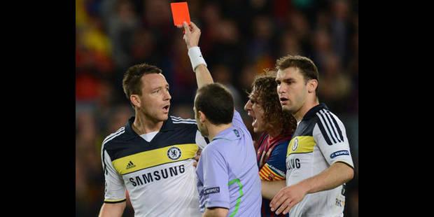 Barcelone/Chelsea: Terry présente ses excuses - La DH