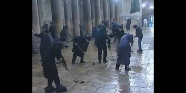 Le nettoyage de la basilique tourne à la bagarre entre prêtres - La DH