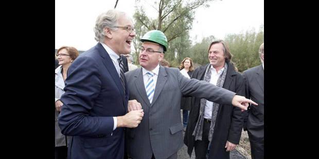 La construction de la prison de Marche-en-Famenne officiellement lancée - La DH