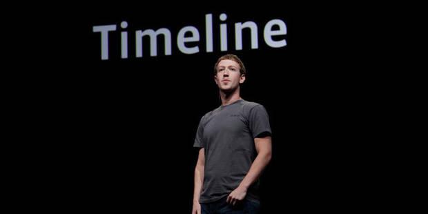 """Facebook lance la """"Timeline"""" pour exposer toute sa vie - La DH"""