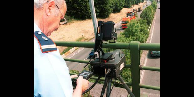 Plus de 1.000 conducteurs flashés chaque jour sur les autoroutes belges - La DH