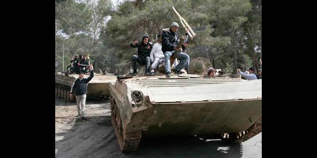 """Les habitants de Tripoli terrés chez eux, situation """"excellente"""" selon le pouvoir - La DH"""