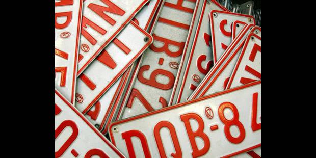 Pas de conséquence négative pour les titulaires des plaques d'immatriculation radiées - La DH