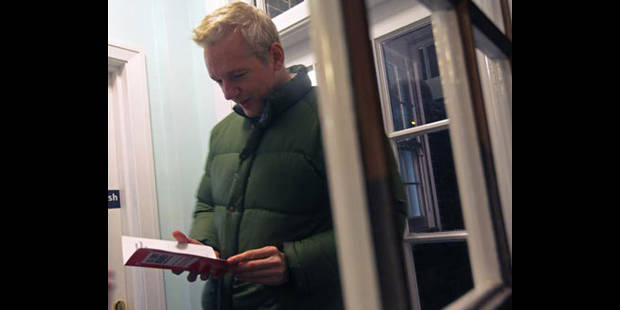 Assange écrira son autobiographie pour 1,5 million de dollars - La DH