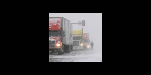 Temps hivernal:  le chaos sur l'E 25 - La DH