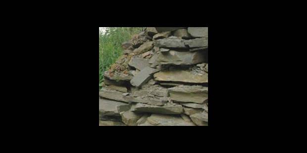 Un rocher menace de tomber à Andenne - La DH