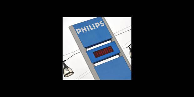 Philips Turnhout: 225 licenciements en plus - La DH
