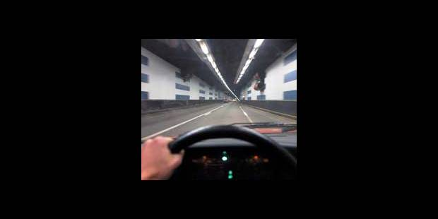 Un automobiliste flashé à 133 km/h dans le tunnel Léopold II - La DH