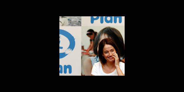 Marie Gillain s'engage pour les droits de l'enfant avec Plan Belgique - La DH