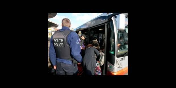 Jet de pierres sur un bus de la STIB à Anderlecht - La DH