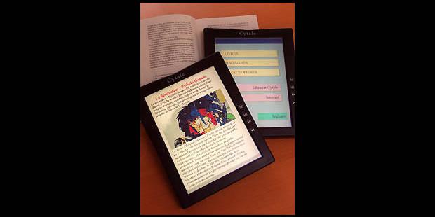 Le livre électronique fait son apparition dans les librairies françaises - La DH