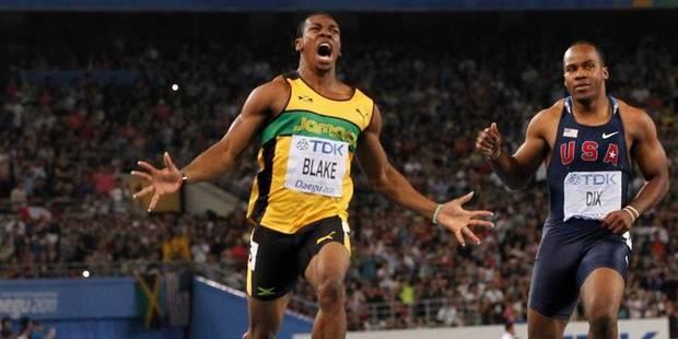 Mondiaux: Le champion du 100 mètres Yohan Blake forfait - La DH