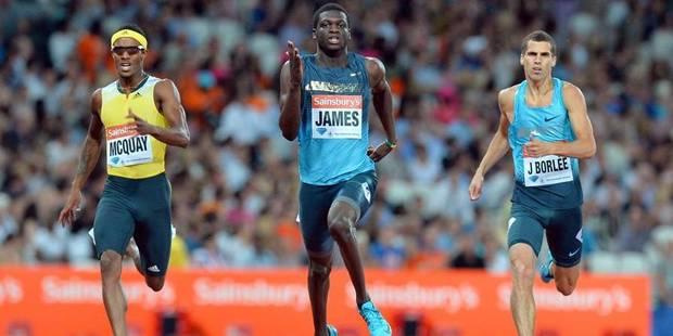 Ligue de Diamant: Jonathan Borlée 3e du 400m, retour fulgurant pour Bolt - La DH