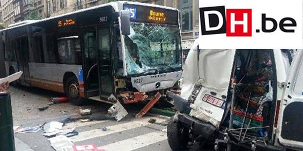 Un conducteur de bus de la Stib se serait... endormi au volant ! - La DH