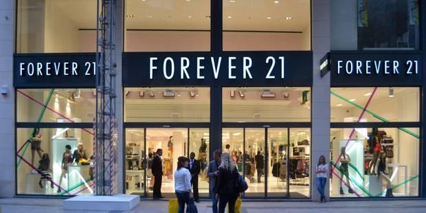 Bientôt plus de Forever21 rue Neuve - La DH