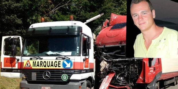 Un chauffeur de camion s'assoupit et tue un ouvrier - La DH