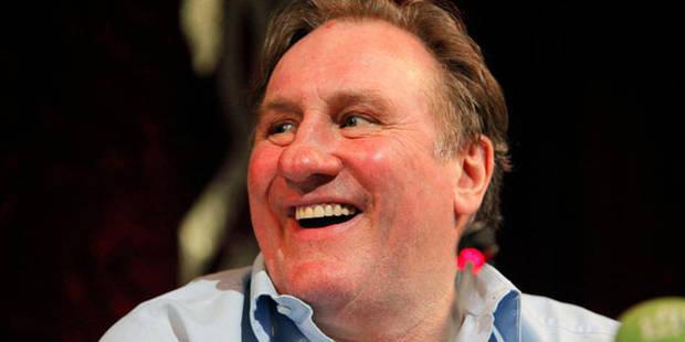 """Depardieu: """"je ne suis jamais parti!"""" - La DH"""