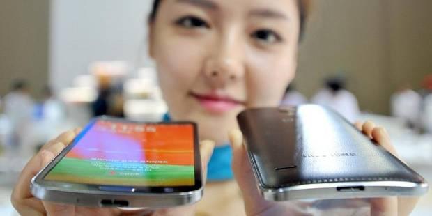 Samsung lance le premier smartphone à écran incurvé - La DH