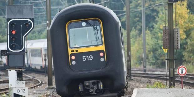 Une voyageuse qui refuse de payer son billet se cache sous un train à Haren - La DH