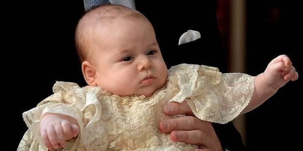 """""""Baptême royal"""" intime pour le prince George - La DH"""