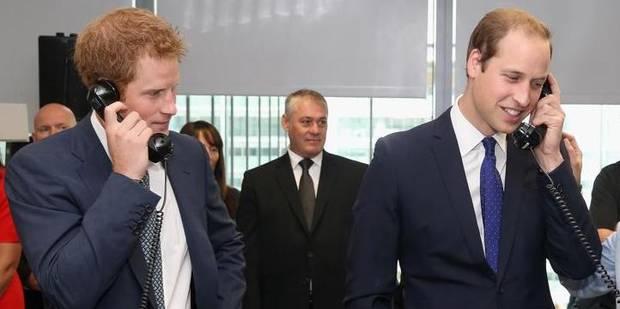 Les princes Harry et William piratés - La DH
