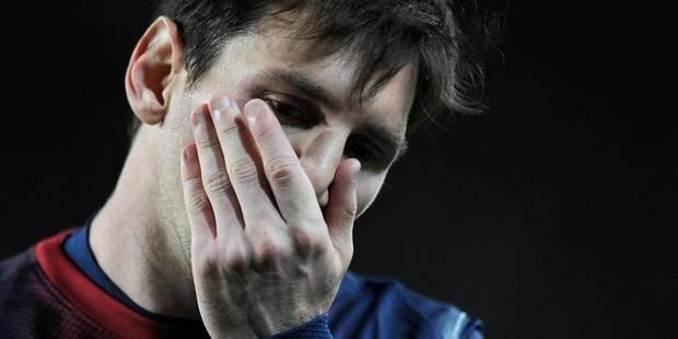 Coup dur pour le Barça et Messi - La DH