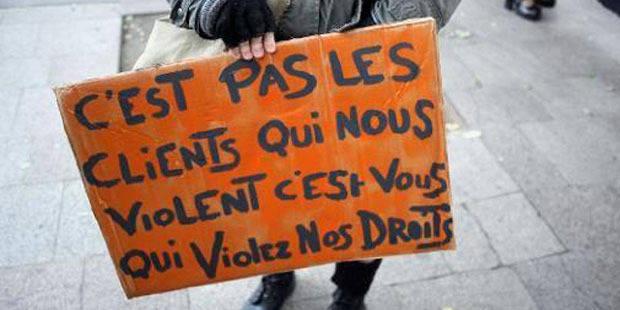 France: les députés adoptent un article de loi pénalisant les clients des prostituées - La DH