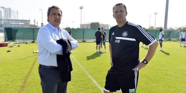 """Van Holsbeeck: """"John a prouvé qu'il était un entraîneur du top"""" - La DH"""