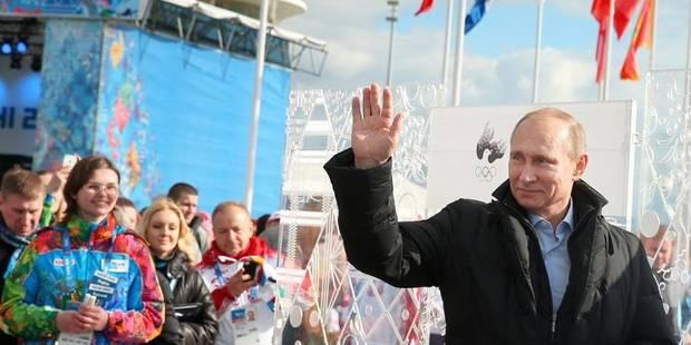 """La flamme à Sotchi, la Russie """"prête"""" pour les Jeux, dit Poutine - La DH"""
