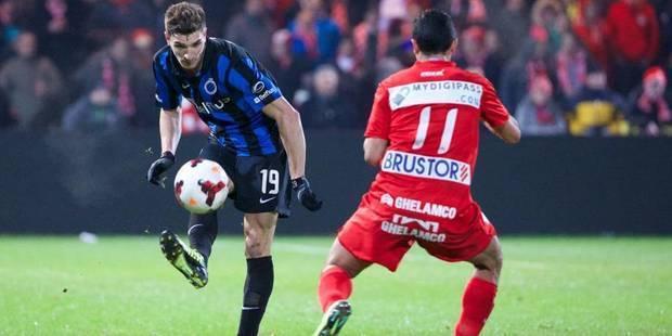 Bruges triomphe contre Courtrai (3-1) - La DH