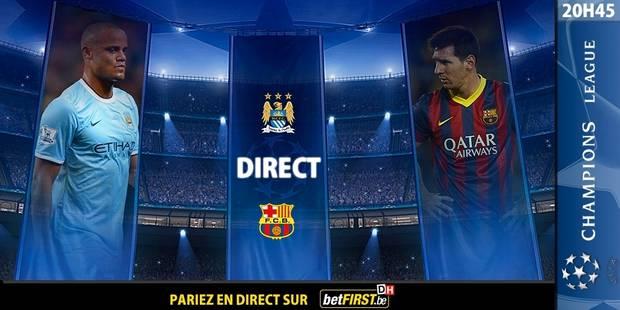 City-Barça: parole aux attaques - La DH