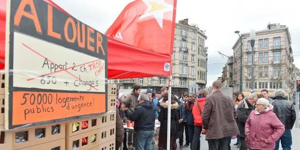 Le PTB réclame la création de 50.000 logements sociaux en région bruxelloise - La DH