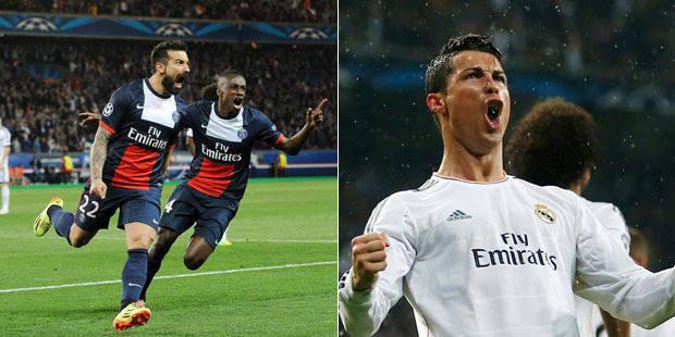 C1: le PSG et le Real déjà en demi-finale? - La DH