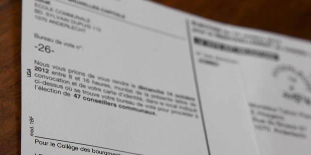 """Convocations électorales: certains francophones """"sèment le trouble"""" - La DH"""