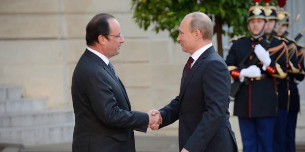 Ukraine: Poutine satisfait de ses contacts en Normandie - La DH