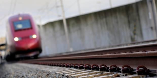 Une personne percutée par un train à Gembloux - La DH