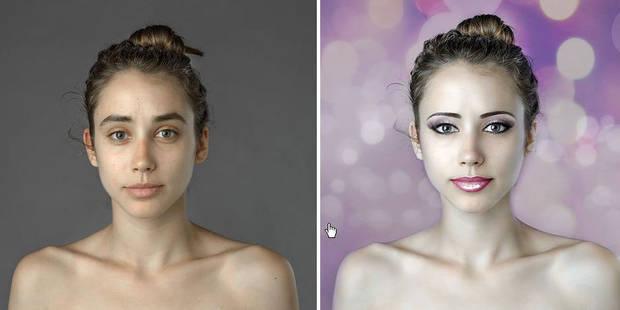Les critères de beauté varient selon le pays, la preuve avec Photoshop - La DH