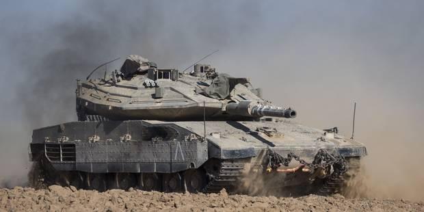 Israël lance une opération terrestre dans la bande de Gaza - La DH