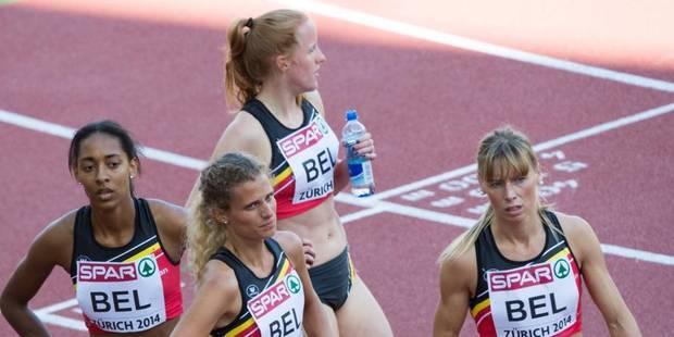 Zurich: la Belgique larguée dans les 2 finales du 4x400m - La DH