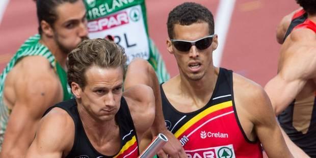 """4x400 m hommes: """"Surprenant de faire notre meilleur chrono de la saison vu les circonstances"""" - La DH"""