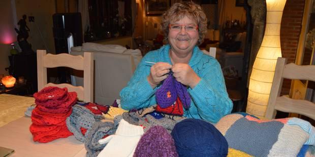 Du tricot pour la bonne cause - La DH