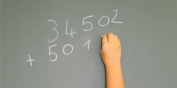 Les mathématiques, gros point faible des élèves francophones - La DH